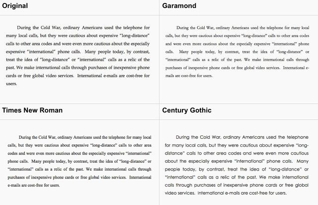 Why Garamond Won't Save The Government $467 Million A Year | Co.Design | business + design