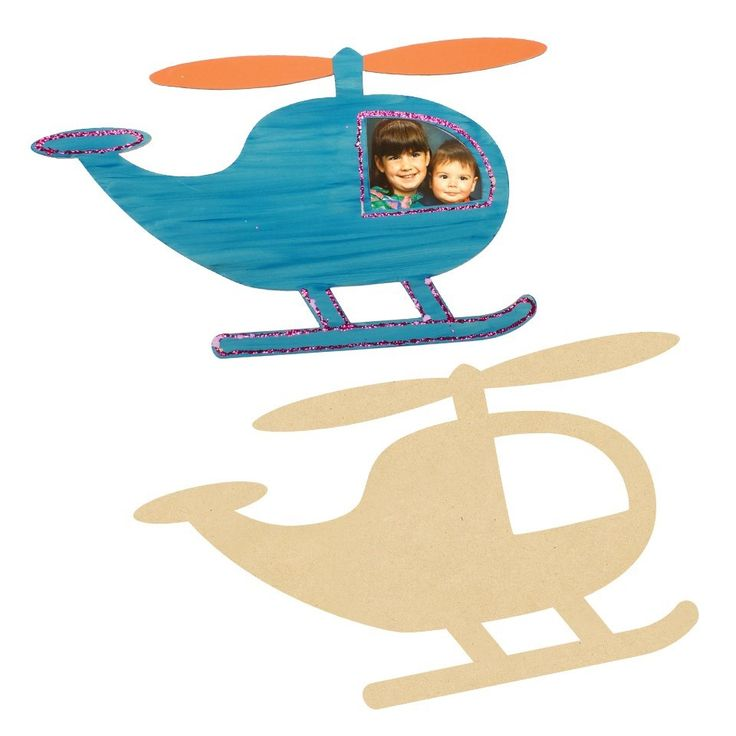 Giant Wooden Helicopters look good in any play room or classroom!