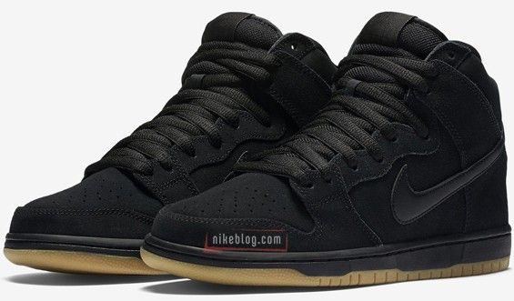c25d9d00f729 The Nike SB Dunk High Black Gum Is On The Way • KicksOnFire.com ...