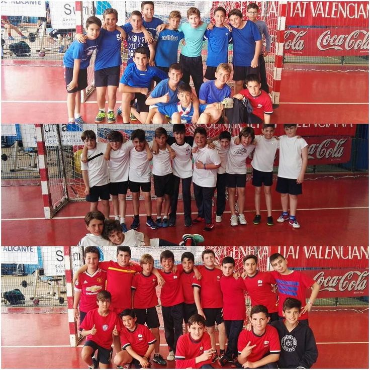 Partidos de fútbol de los chicos de sexto #agusfiestas17