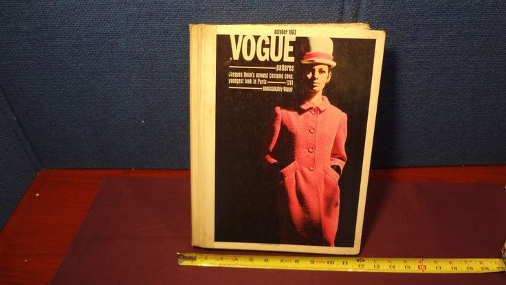 VTG 1963 VOGUE PATTERNS STORE COUNTER CATALOG 45+8 14bds 11/8/14