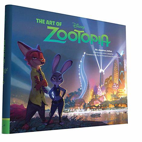 The Art of Zootopia Book   Disney Store