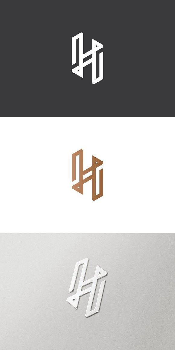 Premium Letter H Logo Initials Logo Design Letter Logo Design Personal Logo Design