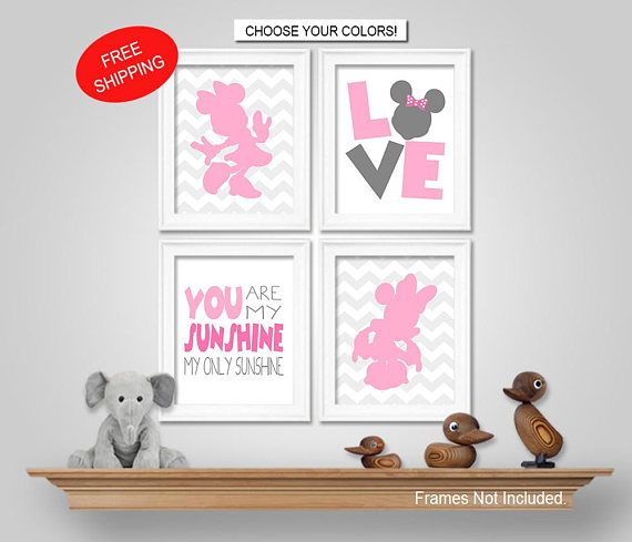 ★★★ ALL MINNIE MOUSE WALL ART... ★★★ https://www.etsy.com/shop/KookyburraPrints?ref=hdr_shop_menu&search_query=minnie ___________________________________________ ★★★ OPTION 1: DIGITAL FILES VIA EMAIL ★★★ Save time and money with Digital Files! - Print at home... OR - Upload to a photo lab and have them print them. (Walgreens, Walmart, Target, Sams Club, Costco, Staples, Shutterfly.com, Mpix.com, Snapfish.com, etc.) - We always recommend printing on MATTE phot...