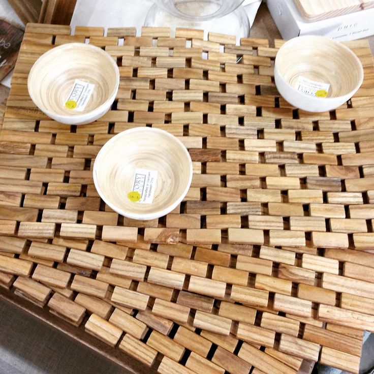 New timber tile placemats!  #theminerscouch #interiors #placemats #timber #tile #home #kitchen #dining #shopping #moonta