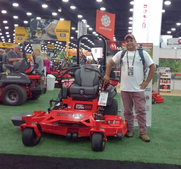 Both 7120 - Make sure to take a look at @gravelymowers / @arienscompany booth today to see all your mower options and snow removal equipment for those residential jobs. Then demo them outside!  . . . . . .  Follow us on Instagram @MowerManLS Subscribe to our YouTube channel at Mower Man Lawn Service or link on our bio!  . . . . . #powertools #gravely  #tools #milwaukeetools  #mowers #landscaper #landscaping #gravelypride #gravelyatwork  #gravelyfamily #gravelymowers #uagpro #gravelymower…