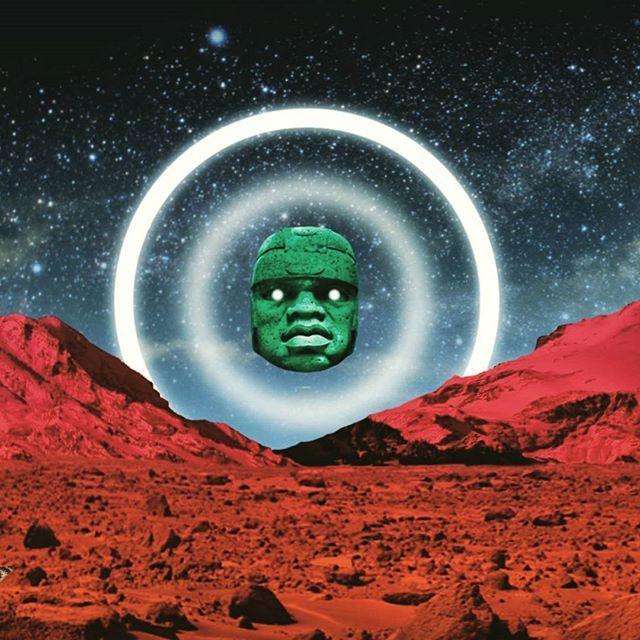 WEBSTA @ calzadilla.rodrigo - Olmeca místico. Soltando la mano con el diseño digital. Cabeza monumental olmeca 1500 A.Chttps://m.facebook.com/story.php?story_fbid=10209427226133711