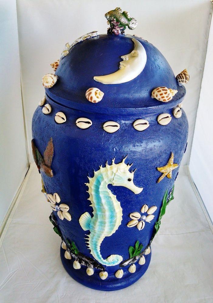 Caldero de Orisha Yemaya Seven African Powers Santeria Yoruba Cauldron Sopera