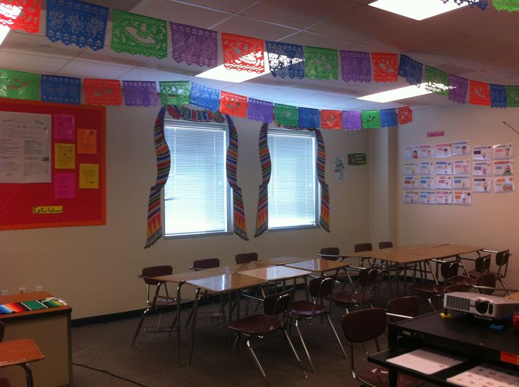 Foreign Language Classroom Decoration Ideas ~ Best images about spanish classroom ideas on pinterest