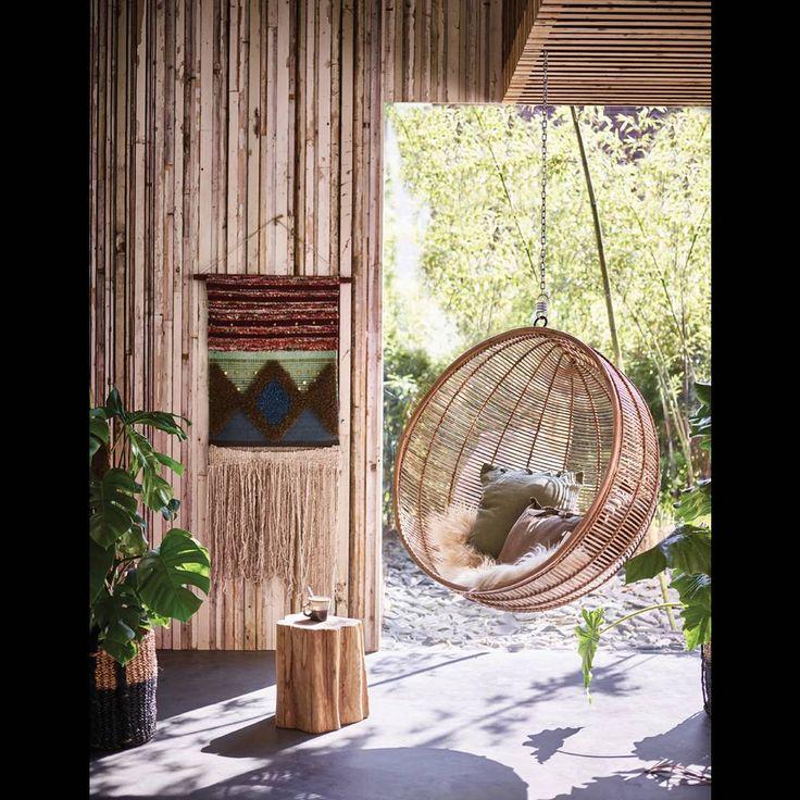 les 25 meilleures id es concernant fauteuil suspendu sur pinterest chaise suspendue fauteuil. Black Bedroom Furniture Sets. Home Design Ideas