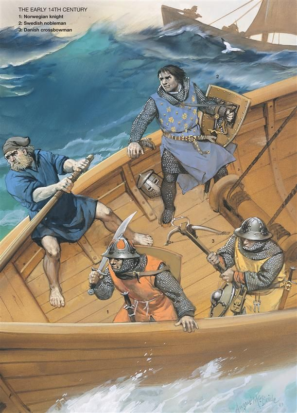 Medieval Scandinavian Armies - The early 14th. Osprey Publishing