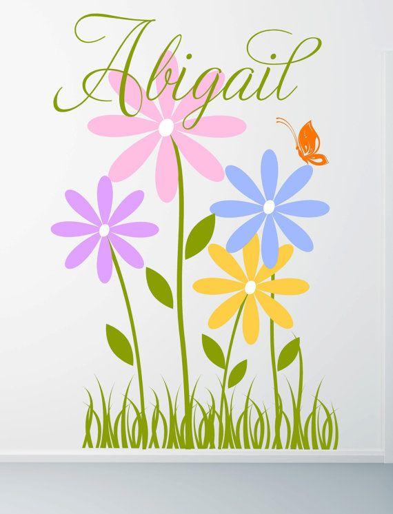 Grandi fiori di Margherita con di itswritteninvinyl su Etsy, $85.00