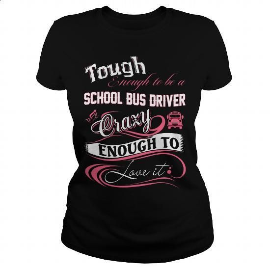SCHOOL BUS DRIVER - #tee times #best hoodies. CHECK PRICE => https://www.sunfrog.com/Jobs/SCHOOL-BUS-DRIVER-143754288-Black-Ladies.html?60505