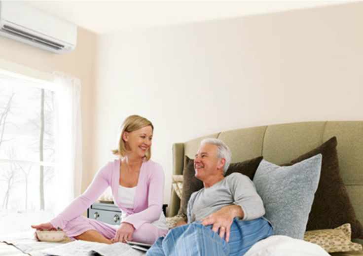 Read about wall-mounted, ductless heat pumps here: http://www.mainlinehs.com/about-us/hot-topics/24482-wall-mounted-heat-pumps-sales-installation-and-service-from-mainline.html