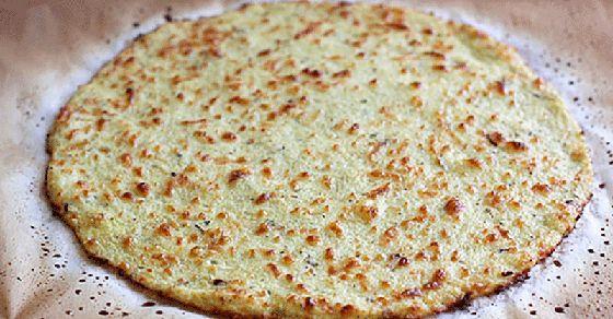 TODAS LAS RECETAS : Base vegana para pizza de coliflor y chía.
