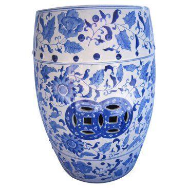 Best Of Dark Blue Garden Stool