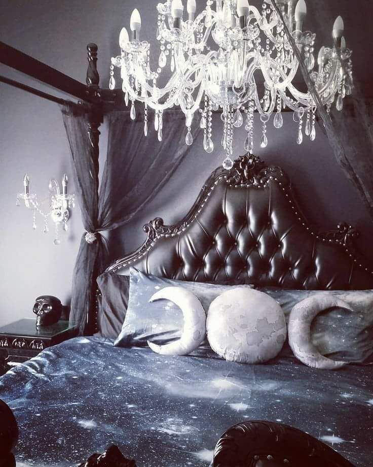 Celestial Goth Bedroom Goth Home Decor Gothic Bedroom Gothic