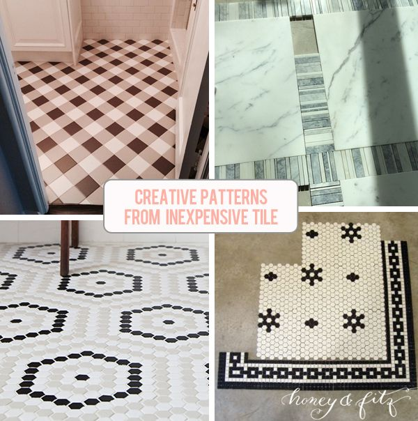Most Creative Flooring Ideas For Your Modern Home: 1000+ Ideas About Tile Floor Patterns On Pinterest
