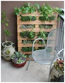 inspiring small space patio gardening idea