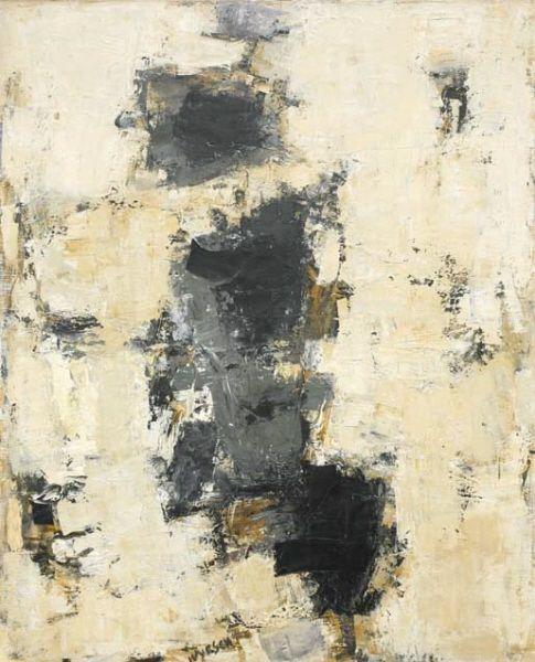 Charles Wyrsch - Aufsteigender Rhythmus, 1965/1966 Öl auf Leinwand