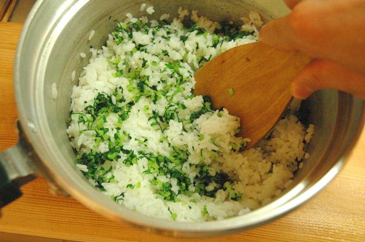 菜飯(菜めし)
