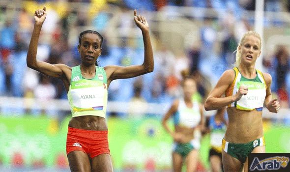 Ethiopia's Ayana smashes world record to win…