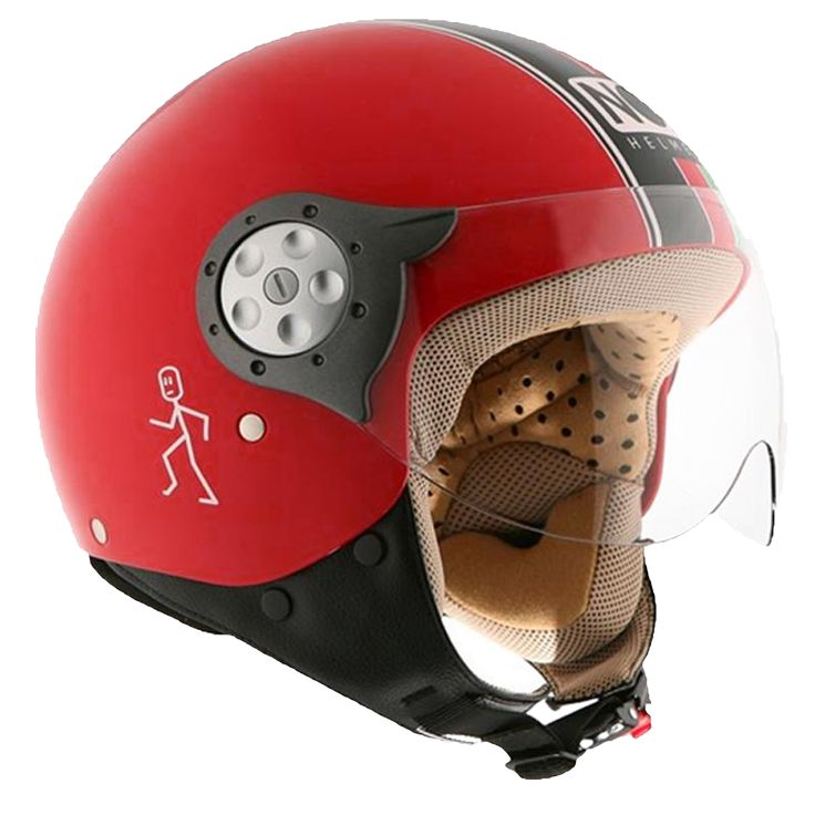 casque NOX N210 rouge