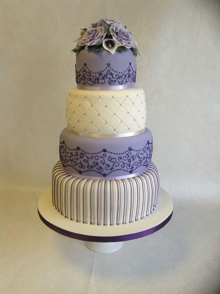 Decorative Spirals On Cakes