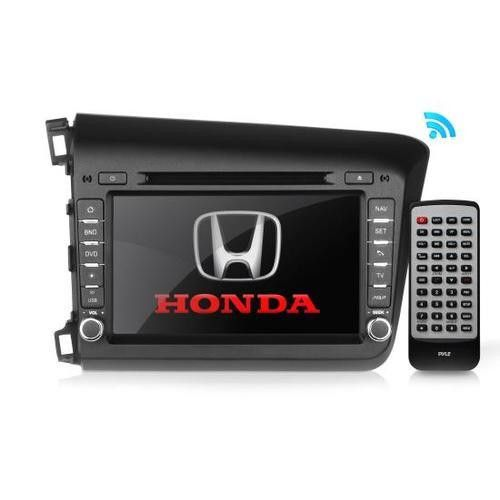2012 Honda Civic Factory OEM Replacement Stereo Receiver, Plug-and-Play Direct Fitment Radio Headunit