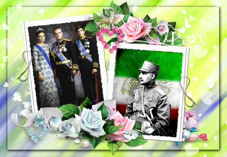 در دیده ما شاه بود سایه یزدان..... تا کور شود دیده بیگانه پرستان