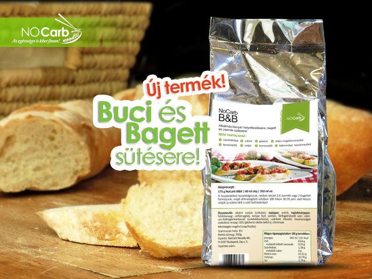 Új termék a NoCarb kínálatában! NoCarb B&B (Buci és Bagett) Próbáld ki! | Klikk a képre további infókért!