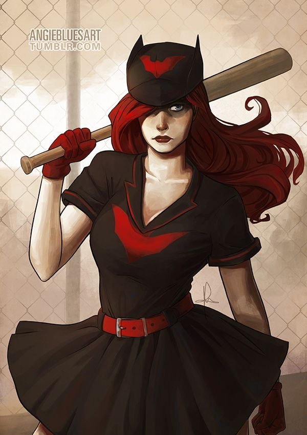 Bombshell Batwoman by AngieBlues on DeviantArt