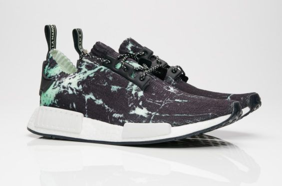 834f560be adidas NMD R1 Primeknit Green Marble Dropping This Week The adidas NMD R1  Primeknit Green Marble