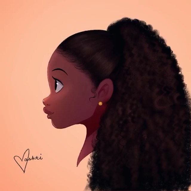18k Likes 37 Comments Cheap Great Virgin Human Hair Hairspells Love On Instagram This Is Excellent H In 2020 Black Girl Art Black Girl Magic Art Black Love Art
