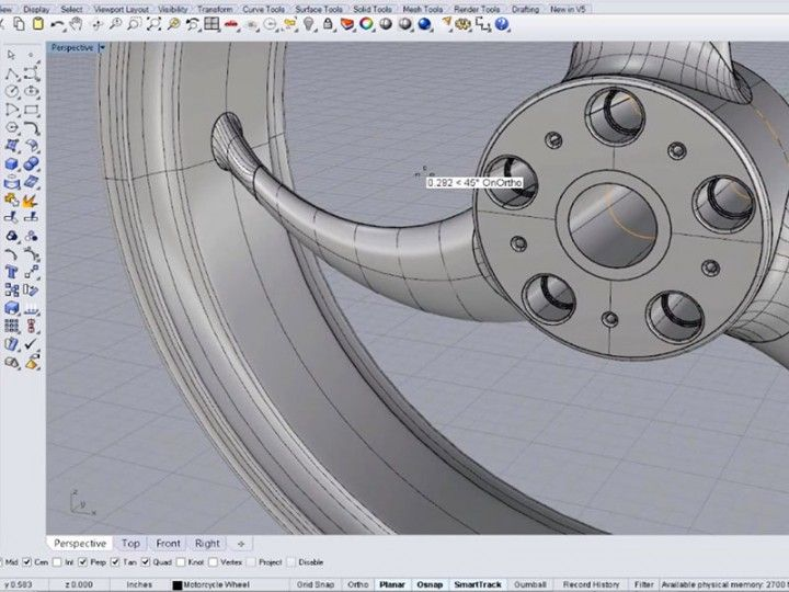 Sketch to 3D Model – Detailing your model in Rhinoceros