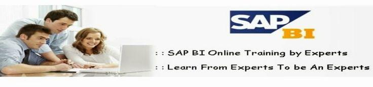 Best training institutes for Sap bi in hyderabad, andhra pradesh.