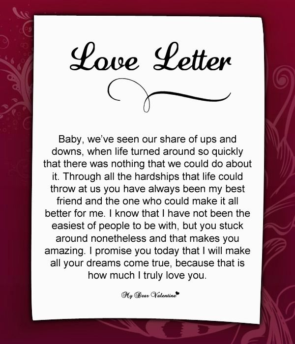17 Best images about Love Letters for Her – Love Letters for Her