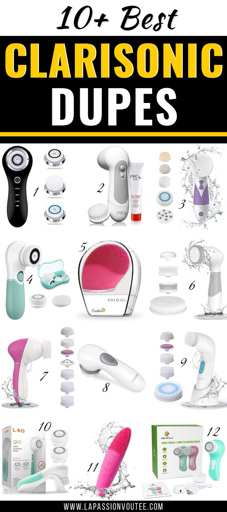 13 Best Clarisonic Dupes Affordable Facial Brush Dupes