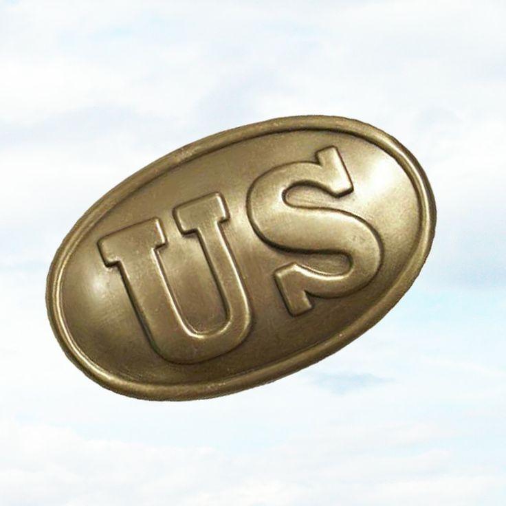 civil war belt buckles | Civil War US Union Soldiers Solid Brass Belt Buckle USA | eBay