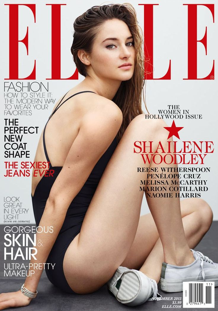 Shailene Woodley, Elle Magazine [United States] (3 November 2013)