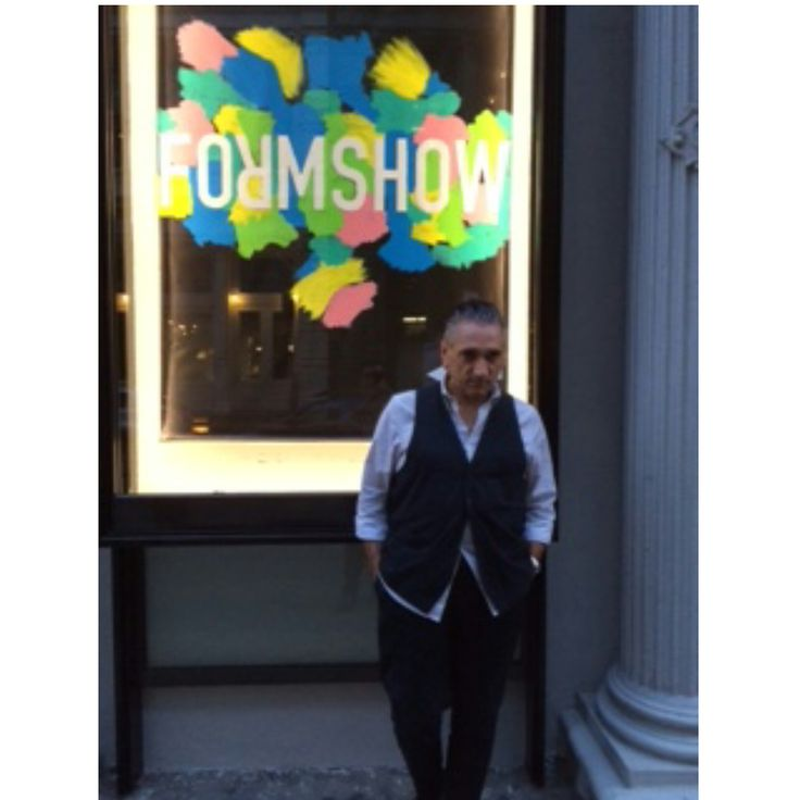 """""""FORMSHOW opens a new era with its highly curated collections and intimate venue. Brava Jenny!""""-Saverio Palatella"""
