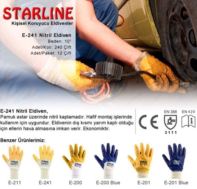Everybody needs nitrile gloves  either yellow or blue for almost all simple applications