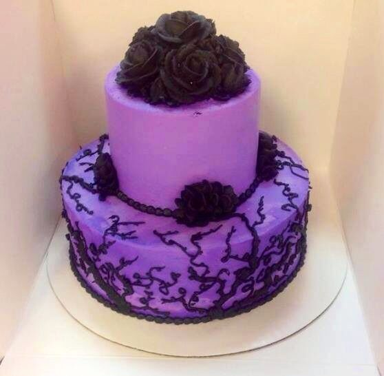 Purple Wedding Ideas With Pretty Details: 31 Best Images About Cake Purple On Pinterest