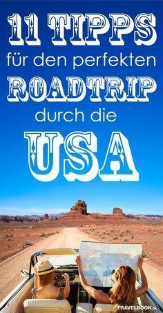 Bei offenem Fenster und guter Musik auf den unendlichen Highways der Staaten entlang brausen: Ein Roadtrip in den USA ist wohl der Klassiker unter den Rundreisen auf vier Rädern, von dem viele träumen. Damit Ihr USA-Roadtrip perfekt wird, hat die Reisbloggerin und erprobte Roadtripperin Ina Franke 11 Tipps für Sie zusammengestellt.