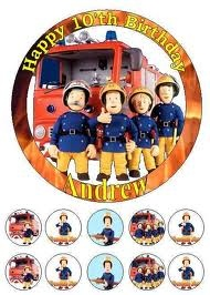 Fireman Sam Cake Decorations Tesco : 100 best images about Fireman Sam on Pinterest Edible ...