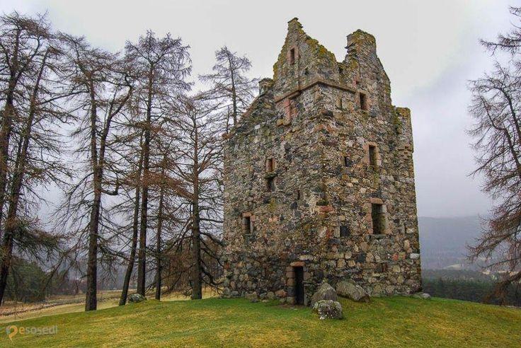 Замок Нок – #Великобритания #Шотландия (#GB_SCT) Исторический памятник Шотландии. http://ru.esosedi.org/GB/SCT/1000450630/zamok_nok/
