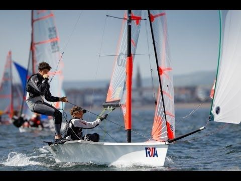 Day 2 - RYA Youth Nationals 2014, WPNSA with Nick Dempsey and Hannah Mills