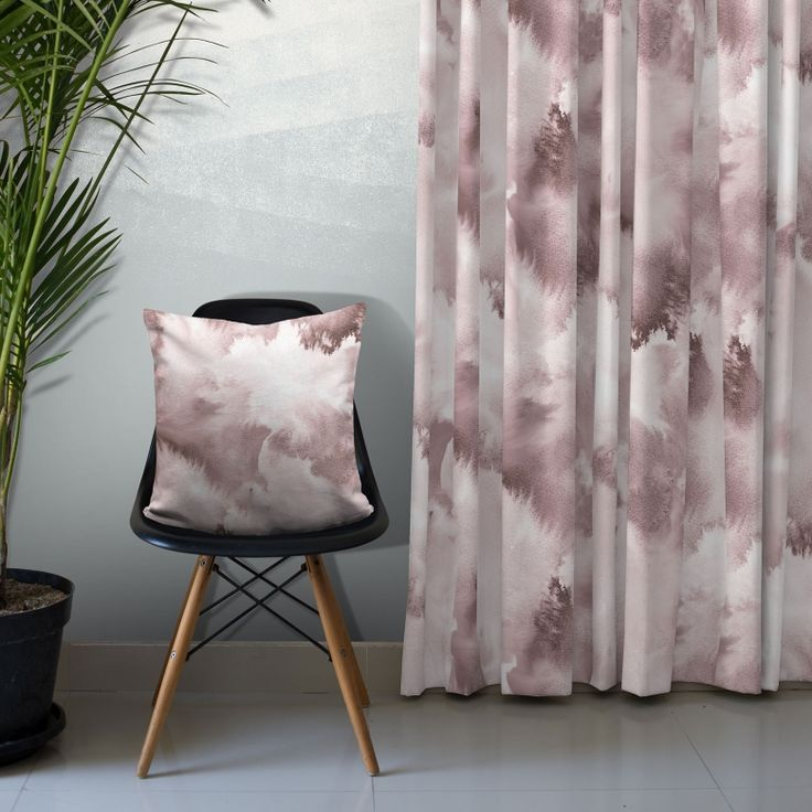 Baltic Sea Cotton Fabric (Blush) on Feathr.com