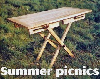 Round Picnic Table Plans - Outdoor Furniture Plans and Projects   WoodArchivist.com