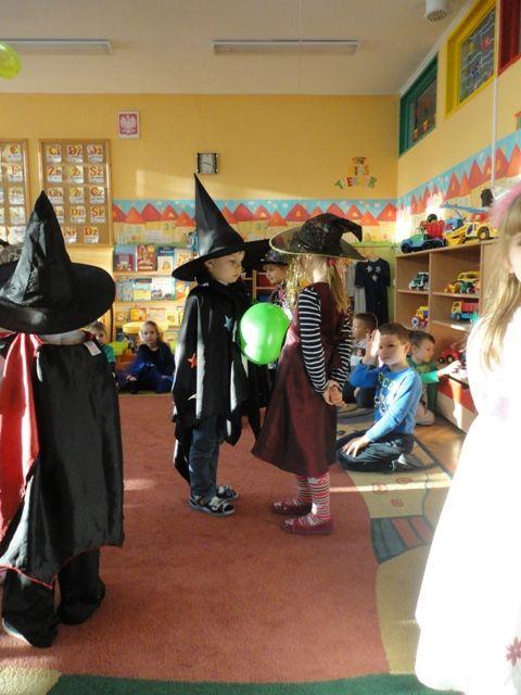 Impreza Andrzejkowa w przedszkolu